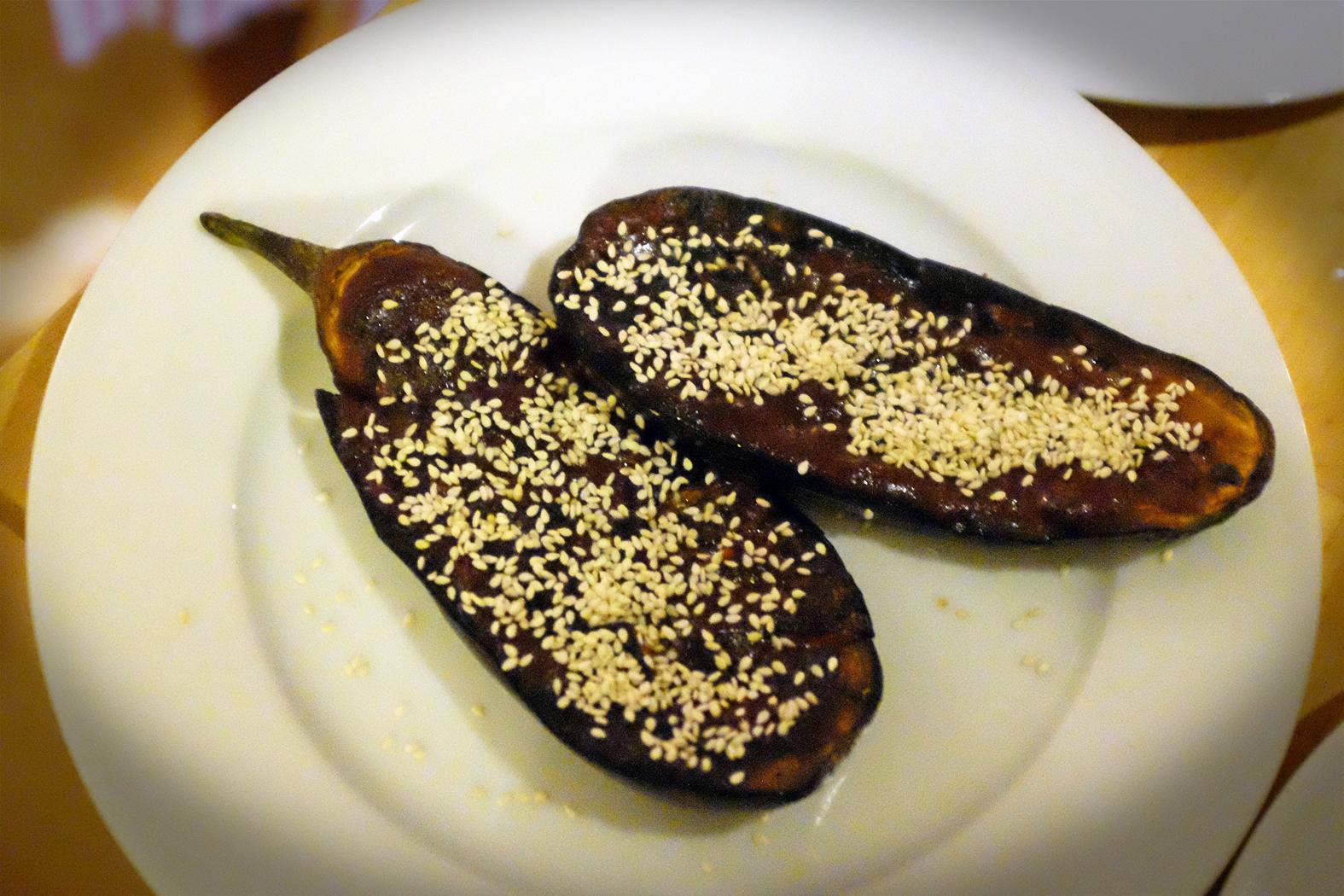 Nasu-Dengaku (Miso-glazed Aubergine)